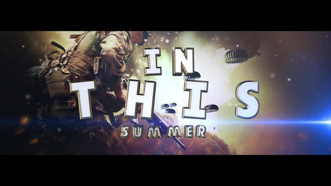 Powerful Cinematic Trailer After Effects Template