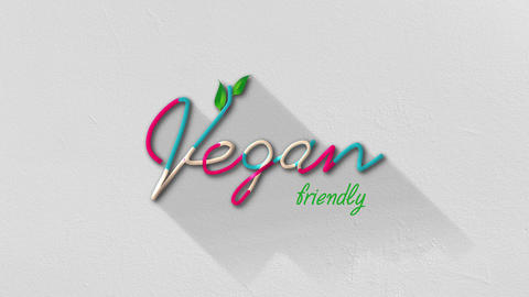 Vegan Friendly Title Animation
