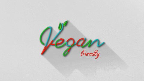 Vegan friendly Background Animation