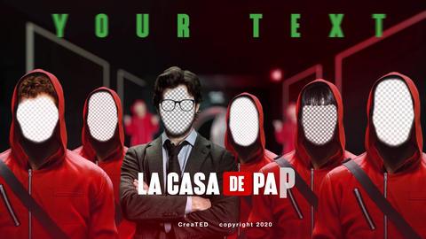 La Casa De Papel - Toolkit After Effects Template
