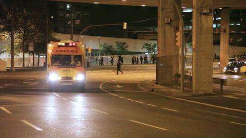 Ambulance emergency Footage