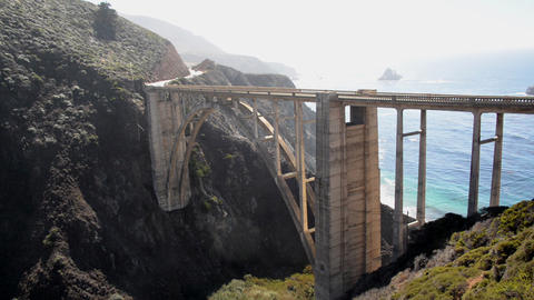 Bixby Bridge View Footage