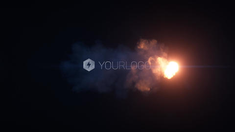 Cinematic Fire Reveal After Effects Template
