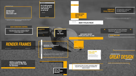 Big Titles 2 0 Motion Graphics Template
