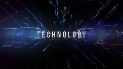 Epic Technology Logo AE 模板