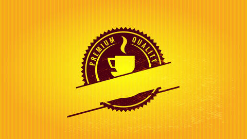 rounded chainsaw cut border design for high standard cafe product using mature makeup offset Animation
