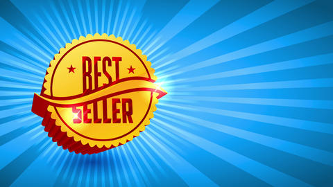 best merchant selling event design with gold 3d rippled figure with large glossy lettering script Animation