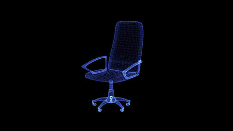 The hologram of a director's chair Live Action