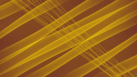 Luxurious golden background with diagonal golden light rays, flowing background Animation