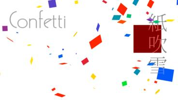 Confetti Apple Motion Template
