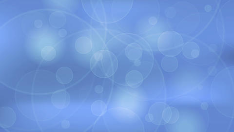 Abstract blue bokeh clean shiny video animation Animation