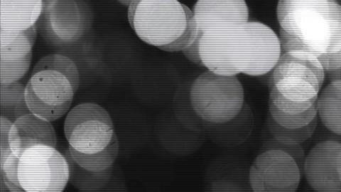 Black & white bokeh background Live Action