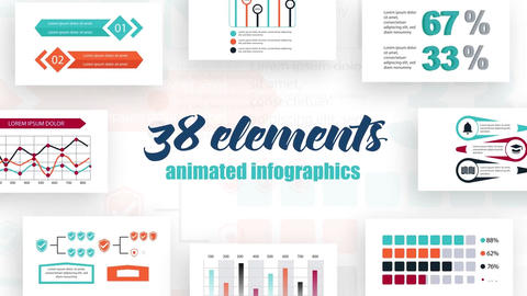Infographics vol.24 After Effects Template