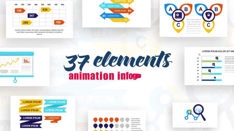 Infographics vol.18 After Effects Template
