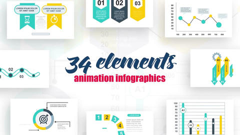Infographics vol.16 After Effects Template