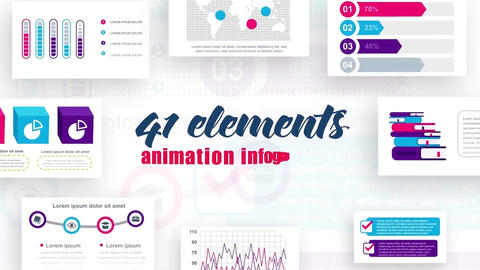Infographics vol.8 After Effects Template