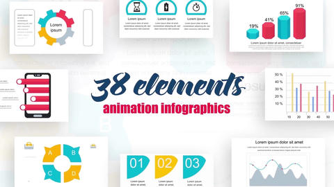 Infographics vol.7 After Effects Template