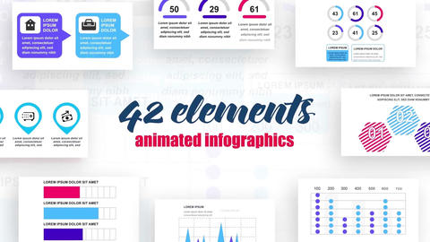 Infographics vol.6 After Effects Template