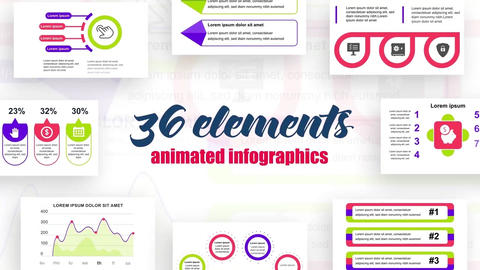 Infographics vol.5 After Effects Template