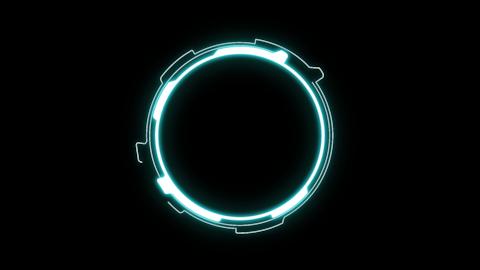 Sci-Fi Circle2 CG動画