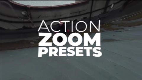 Action Zoom Presets PACK 150+ After Effectsアニメーションプリセット