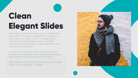 Clean Elegant Slides After Effects Template