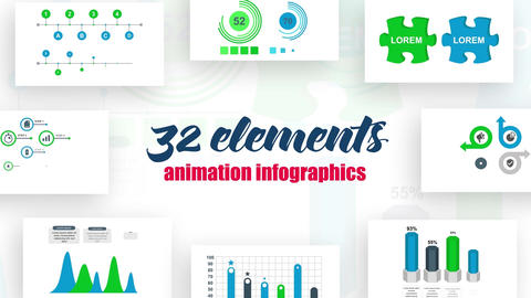 Infographics vol.17 After Effects Template
