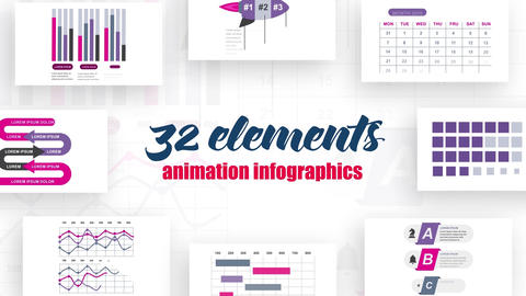 Infographics vol.14 After Effects Template