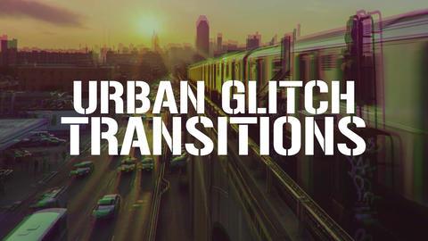 Urban Gltch Transitions Presets Premiere Proエフェクトプリセット