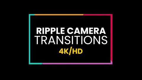 Ripple Camera Transitions Presets Premiere Proエフェクトプリセット