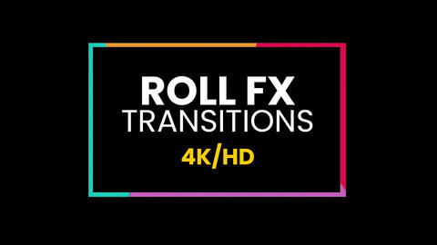 Roll Fx Transitions Presets Premiere Proエフェクトプリセット