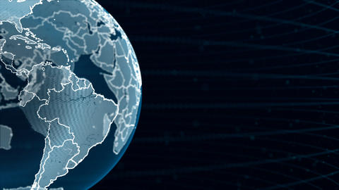 Blue Globe Animation