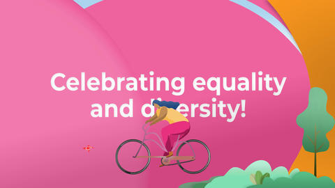 LGBT Pride Celebration Animation