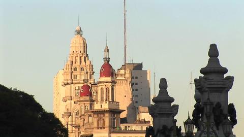 Buenos Aires, Argentina capitol buildings Congreso de la... Stock Video Footage
