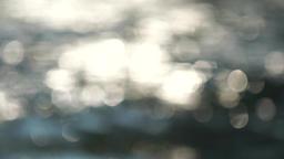 beautiful bokeh of dancing sun reflections on water/Bokeh dancing sunlight on oc Live Action