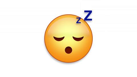 Sleeping Emoji Animated Loops with Luma Matte Animation