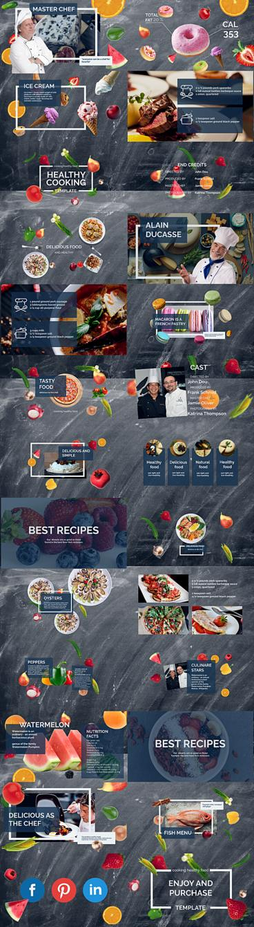 Cooking Show After Effects Template