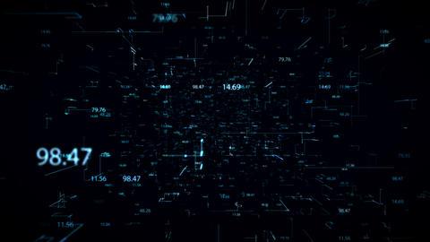 Numbers And Plexus Animation
