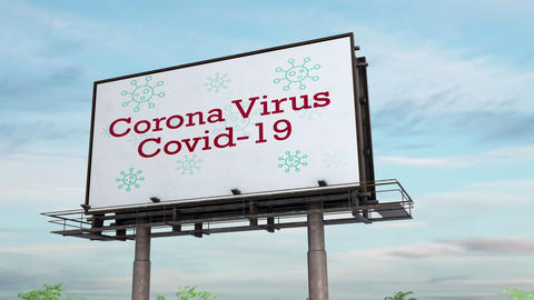 Covid-19 Billboard Animation
