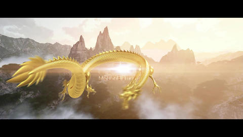 Dragon Opener Logo After Effects Template