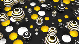Bright Spheres Motion 67 Animation