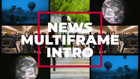 News Multiframe Intro Premiere Pro Template