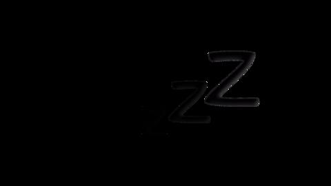 いびきマーク CG動画