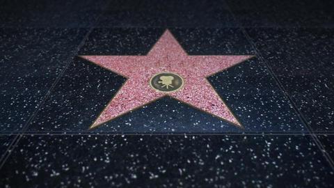 Star Boulevard Hollywood Animation