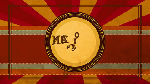 mexican aliment design written on a dish with west offset and terrain cactus drawn on miniature Animation