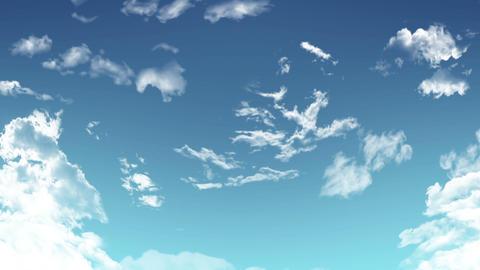 空 雲 CG Animation