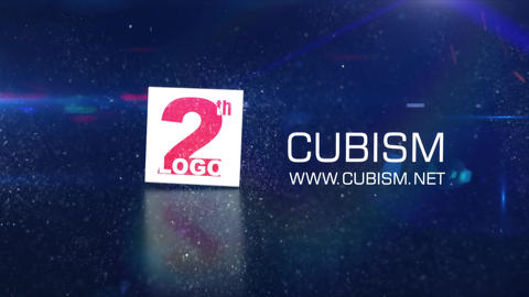 CUBISM Logo reveal After Effects Template