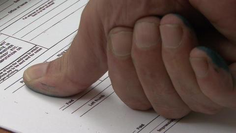 Fingerprints form Footage
