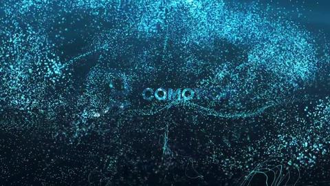 Underwater Logo Reveal Apple Motion Template