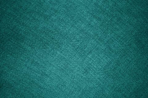 Teal fabric texture Photo